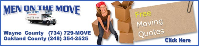 Get a free moving quote from Men on the Move!