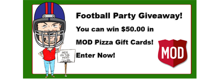 MOD Pizza Giveaway
