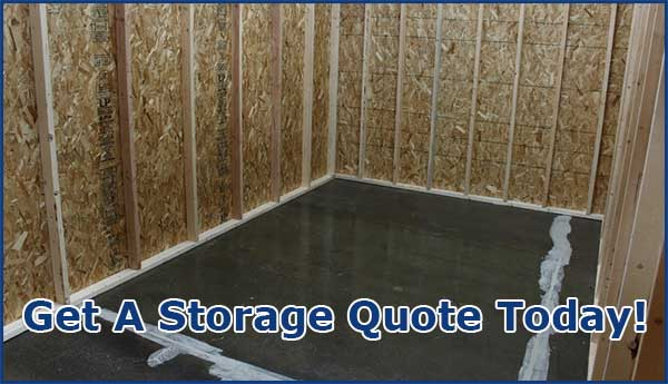 Get a secure storage quote Now!