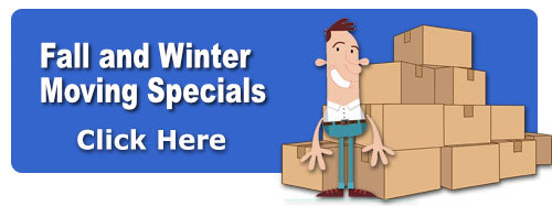 Fall and Winter Moving Specials