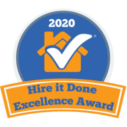 Hire It Done 2020 Excellence Award